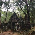 Prasad Krachap Koh Ker group Cambodia