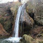 Пятый водопад-Малый Медовый водопад осенью.