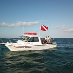This is our boat, Paradise Below