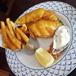 Fish and Chips (19.5 Euro)