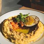 El mejor hummus del continente!!
