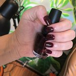 They felt in love with the deeply red color by OPI!