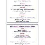 """Le restaurant """"La Paillote"""" vous propose ses menus favoris : """"Découverte"""" et """"Fondue"""""""