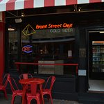 The Front of Front Street Deli