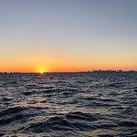 Miami coast line before night dive