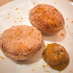 Cinnamon Donuts, Salted Caramel
