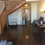 Lower level in daylight Duplex Suite room 1008