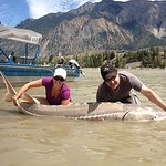 Sturgeon fishing on the Fraser River!