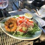 Squid salad - already have eaten! Amazing tomatoes