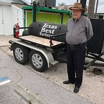 """Pops"" from TX is proud of his son's barbecue!"