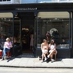 Hardly Pavement Cafe Paris Style!