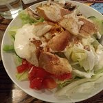 Side garden salad which came with 2 for $12.49 meal