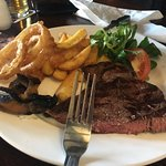 Rump steak for two