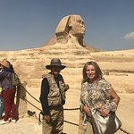 The Great Sphinx of Giza, commonly referred to as the Sphinx of Giza or just the Sphinx,