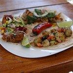 3 Tacos con jalepeño