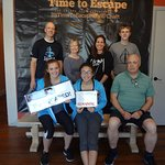 We escaped! Great time at Time to Escape.