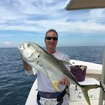 One of many caught with Capt. Van Hubbard