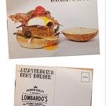 餐廳的明信片