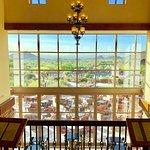View from the lobby