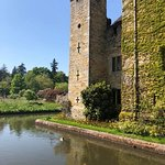 The castle and moat