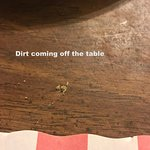 Very dirty table