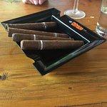 Cuban cigars and lunch at Buena Ventura.