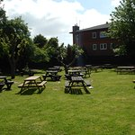 The Old Walnut Tree outside seating