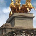 Golden chariott - Parc de la Citadella