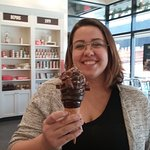 Immersion Montcalm - crème glacée dipped in chocolate at Chocolat Favoris