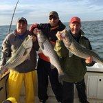 Fall World Class Striper fishing