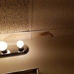 water leaks & stains in bathroom ceiling