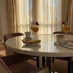 a little breakfast and warm sunshine - presidential suite