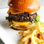 Monday night is burger night! Enjoy a delicious Wagyu Beef Burger in the bar while supplies last
