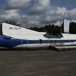 Stored airliner Fokker F-27