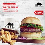 Burgers & more at in every Sierra