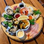 Sea platter, lounge menu