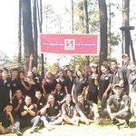 Event company gathering dari Swiss Belinn Tunjungan ke Tretes Treetop adventure park