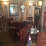 Charming traditional Saloon with home-cooked farm to table/bio products