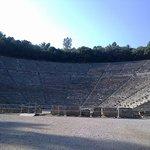 Theater von Epidauros Foto