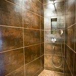 La salle de bain de la suite Phély