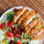 Crispy Chicken Ceasar Salad