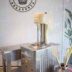 The one and only Carpigiani machine to make artisanal italian gelato the proper way