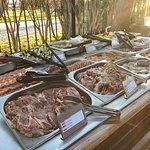Auswahl beim Barbecue