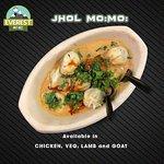 Jhol Mo:Mo: (Nepalese Style Soup Dumplings)