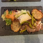 L'Assiette mixte du moment: charcuteries et fromage du Sud Ouest