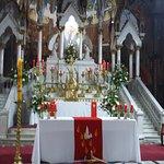 Santiago de Chile. Iglesia Monasterio de Adoración del Santísimo Sacramento. Altar Mayor.