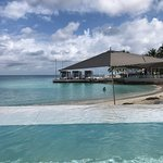View from the infinity pool! Always had a chair/palapa--never over crowded!