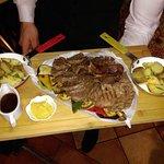 Rib-eya I biftek taljata