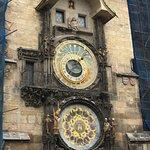 Photo de Hôtel de ville de la Vieille ville et l'horloge astronomique