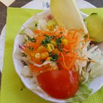 Salat zum Hauptgang